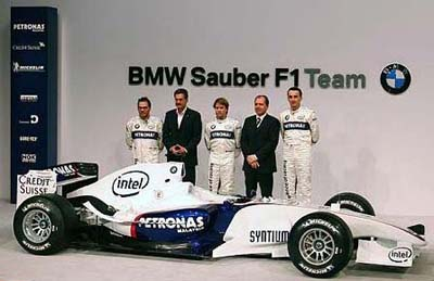 BMW Sauber Launch - Ugly