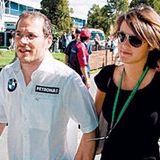 Jacques Villeneuve marries Johanna Martinez