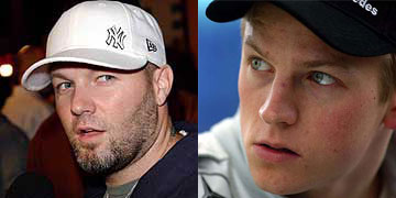 Kimi Raikkonen looks like Fred Durst