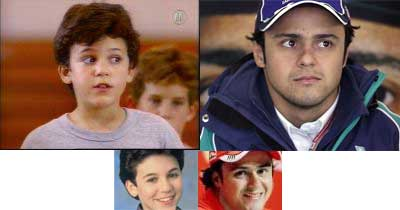 Felipe Massa vs Fred Savage