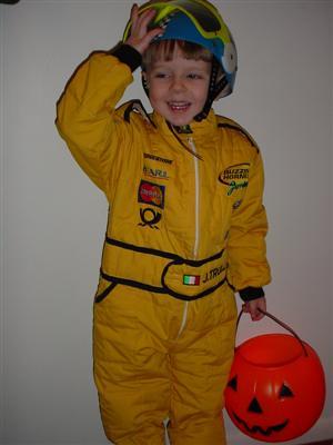 Jarno Trulli scary Halloween