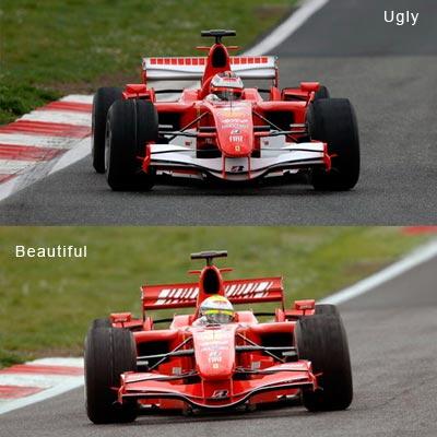 2006 Ferrari 248 F1 vs 2007 Ferrari F2007