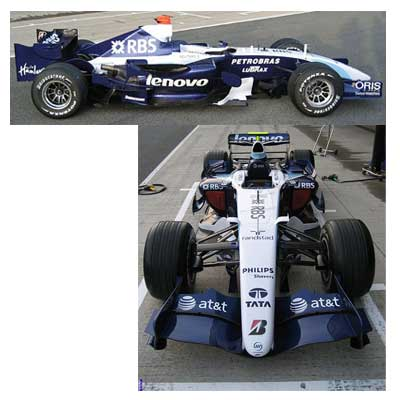 Leaked Williams F1 photos not really leaked