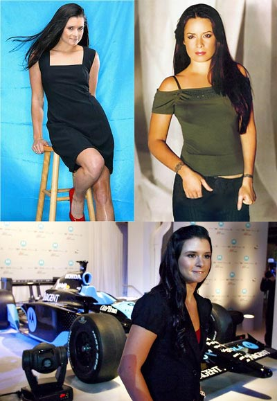 Look-alike: Danica Patrick vs Holly Marie Combs