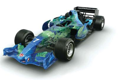 Honda F1 2007 Earth Livery
