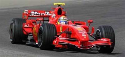 Sneaky Ferrari running Marlboro sponsorship