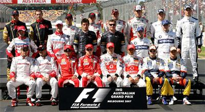 2007 F1 Drivers