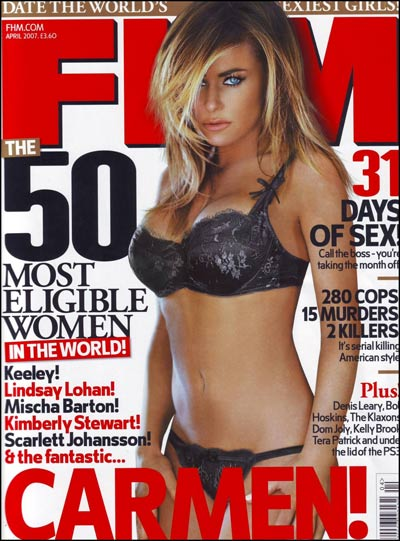 Carmen Electra - FHM cover April 2007