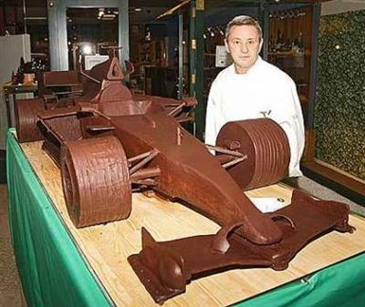 Chocolate McLaren F1 Car