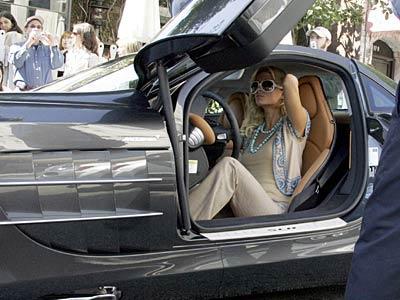 Paris Hilton Mercedes-Benz SLR McLaren