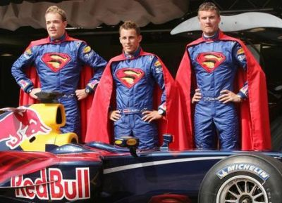 Red Bull Racing Superman the Movie