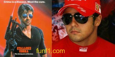 Felipe Massa vs Sylvester Stallone