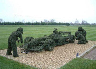Michael Schumachers Garden